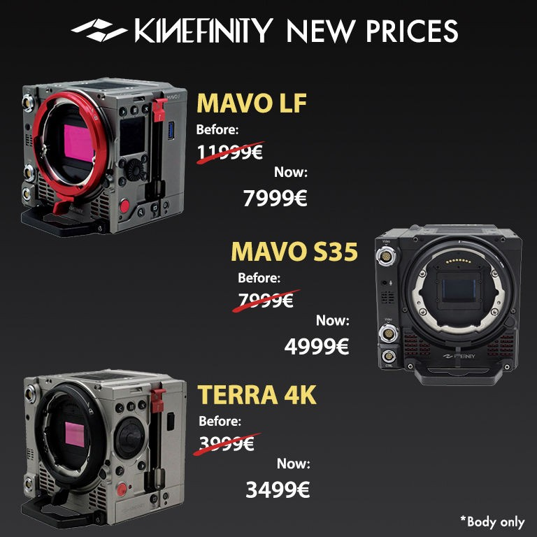 Kine new prices